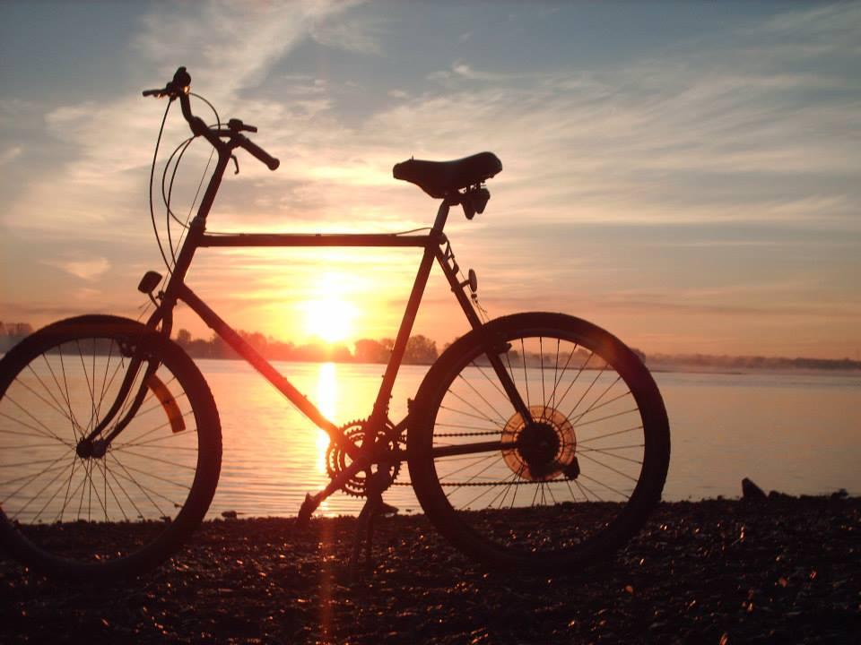 Bicyclette Lever De Soleil